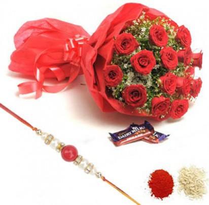 Rakhi Floral Bouquets