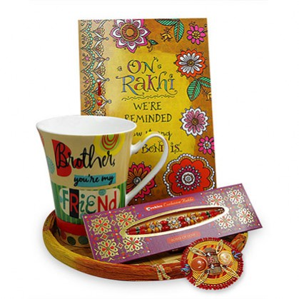 Rakhi gift to Brothers