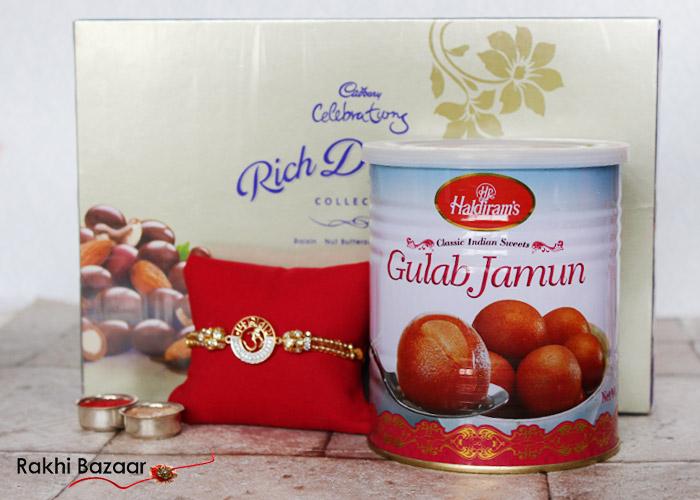 Rakhi with sweets