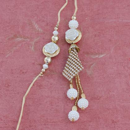 Beads Bhaiya Bhabhi Rakhi