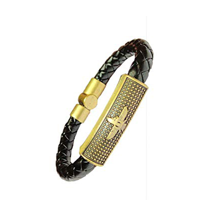 Designer Leather Rakhi