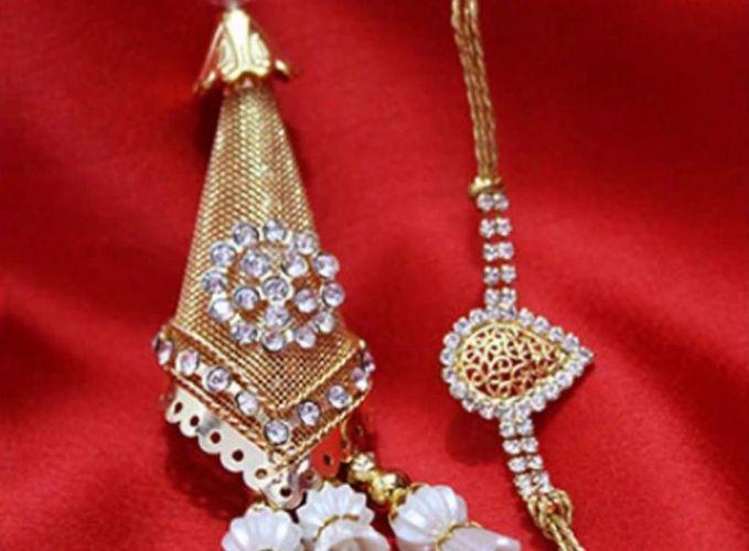 Golden Lumba Rakhi