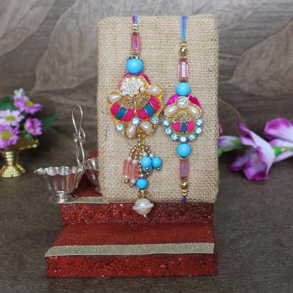 Pearls Bhaiya Bhabhi Rakhi