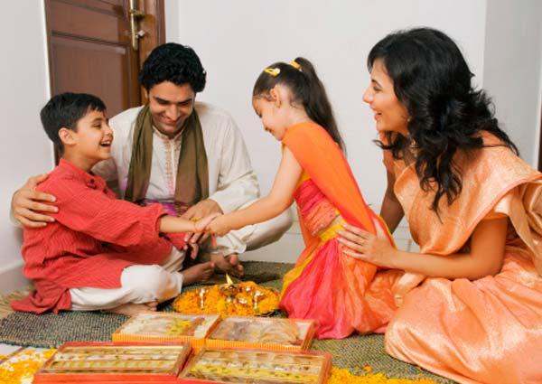 Celebration of Raksha Bandhan in USA