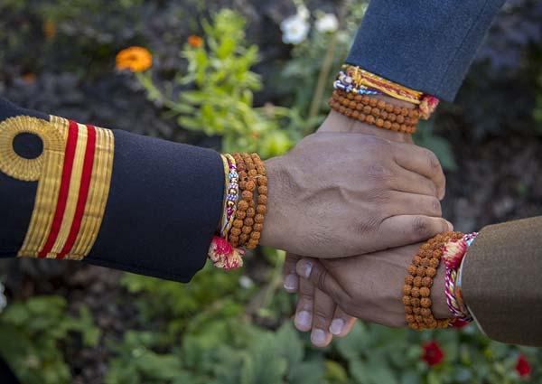 Celebrations of Raksha Bandhan in UK