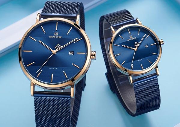 Couple wristwatches