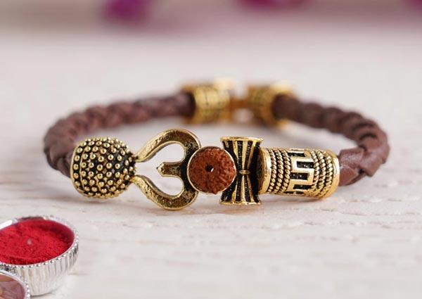 Lord Shiva Bracelet Rakhi