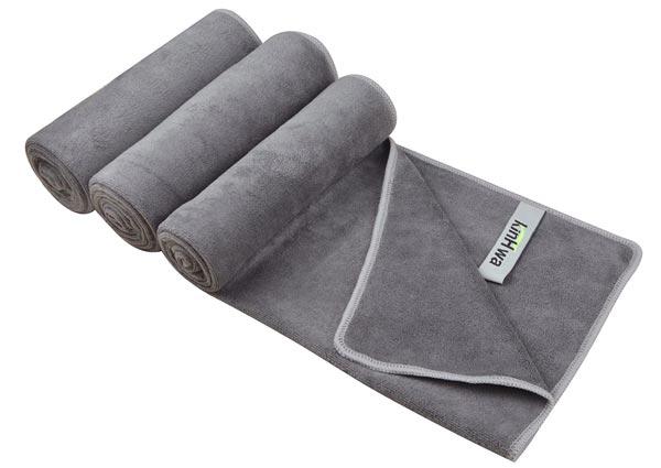 Microfibre travel towel