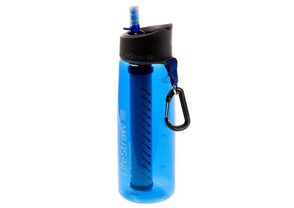 Portable water bottle