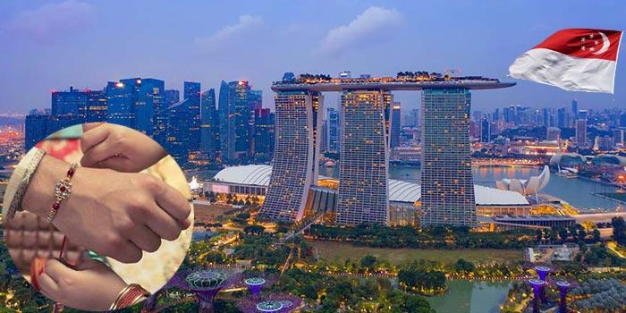 Raksha Bandhan in Singapore
