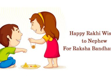 Rakhi Wishes to Nephew